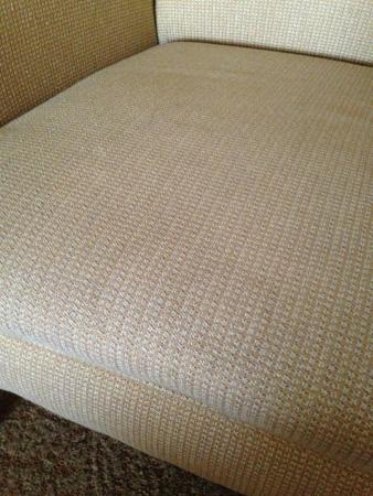 Country Inn & Suites By Carlson, Indianapolis Airport South : This was  a light stain on a chair