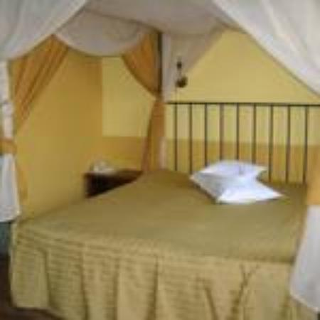 Fullton Hotel: canopy room 201