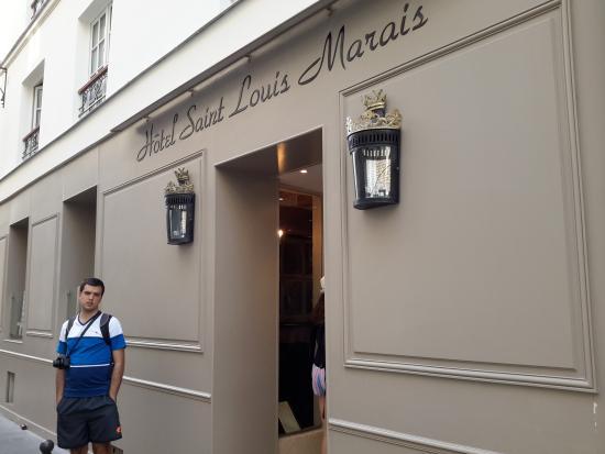 Hotel Saint Louis Marais Fe