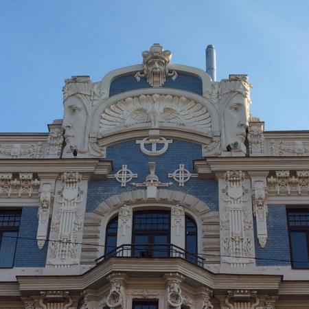 art nouveau building in riga latvia july 23 14 picture of