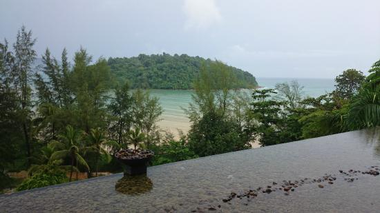 Anantara Layan PhuketResort : вид с крыши ресторана