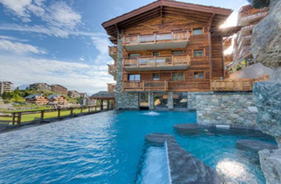 Hotel nendaz 4 vallees spa suisse voir les tarifs for Hotel des bains saillon suisse