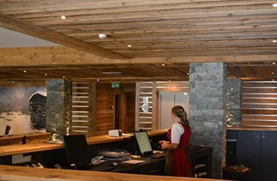 Hotel Nendaz 4 Vallees & Spa : Reception