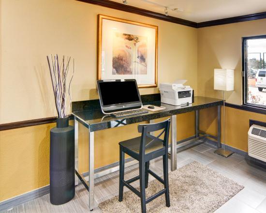Quality Inn DFW-Airport: Computer
