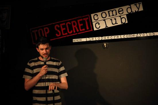 Top Secret Comedy Club in Covent Garden
