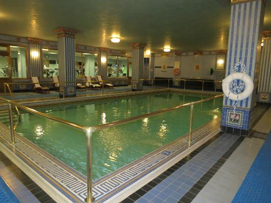 Pool and gym picture of millennium biltmore los angeles - Indoor swimming pools in los angeles ca ...