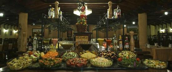 Pampa Churrascaria: buffet