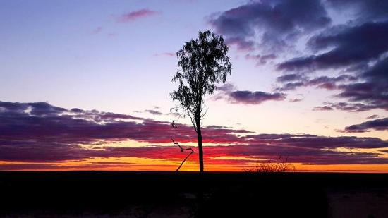 Murraytrek 4WD Outback Adventure Day Tours: Sunset at Mungo National Park. copyright Sharon Johnston is Symagery Photography