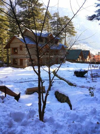 Casa Bella Vista Cottages & Cafe: outside view