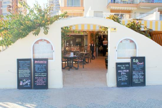 La Regata: Ingang restaurant.