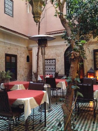 Hotel La Maison Nomade : Der Innenhof