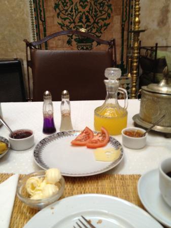 Hotel La Maison Nomade : Frühstück