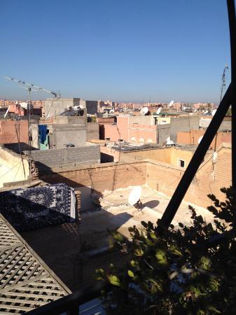 Hotel La Maison Nomade : Blick von der Dachterrasse