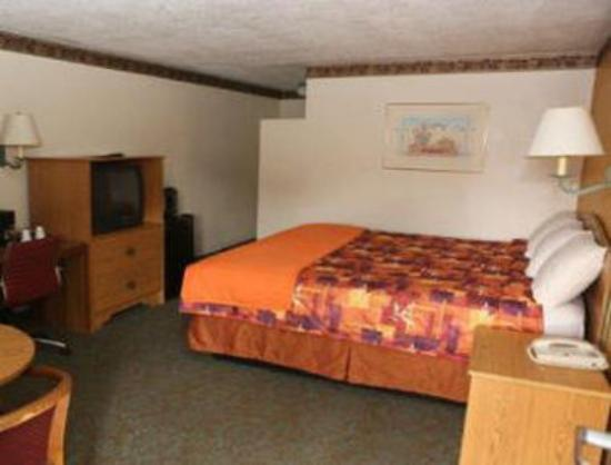 Knights Inn Downtown Albuquerque: 1 Double Bed Room