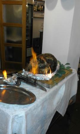 Albergo Ristorante La Foresta: prociutto alla fiamma