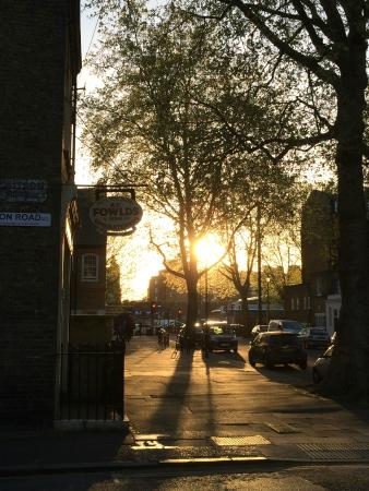 You can enjoy the sunsets sitting outside Fowlds on Thursday and Friday  evenings when we open la - Picture of Fowlds Cafe, London - Tripadvisor