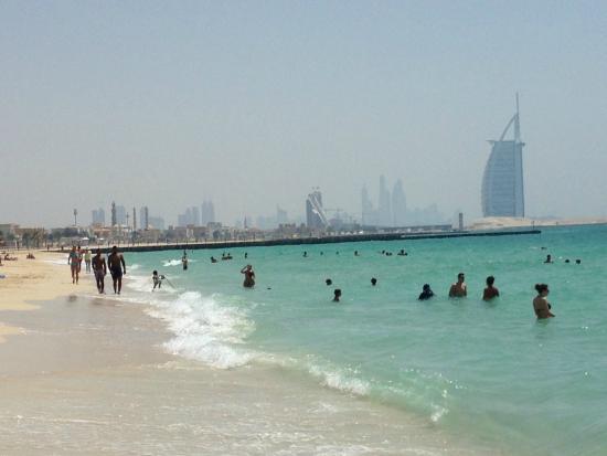 Novotel Dubai Al Barsha Public Beach With View Of Burj Arab