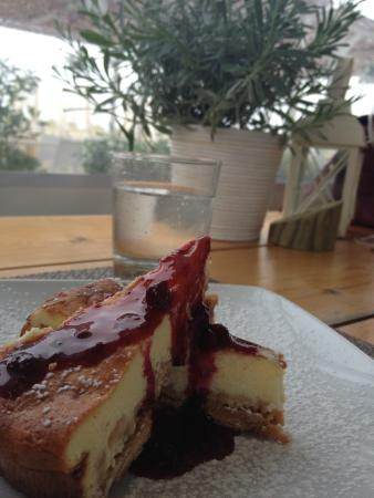 Lido Di Savio, Italia: Cheesecake!