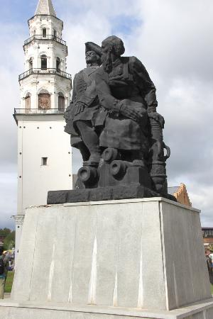 Monument to Peter The Great and Nikita Demidov