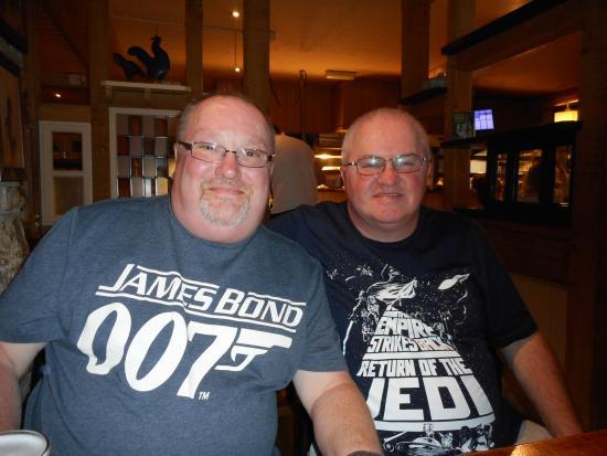 Pencoed, UK: Richard & Ernest