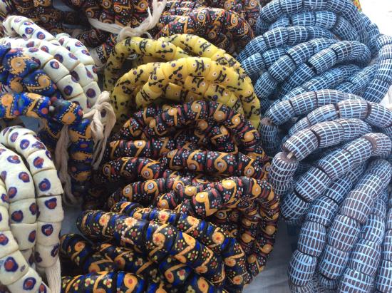 Close Up Of Some Of The Designs Picture Of Sun Trade Beads Accra Tripadvisor