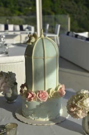 Relais Blu Belvedere: Wedding cake