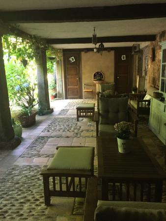 Pazo de Bentraces: Le patio