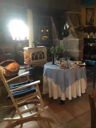 Pazo de Bentraces: Petit-déjeuner