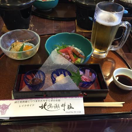 Lakeside Kitagatakonanso: 晩御飯がおいしかった