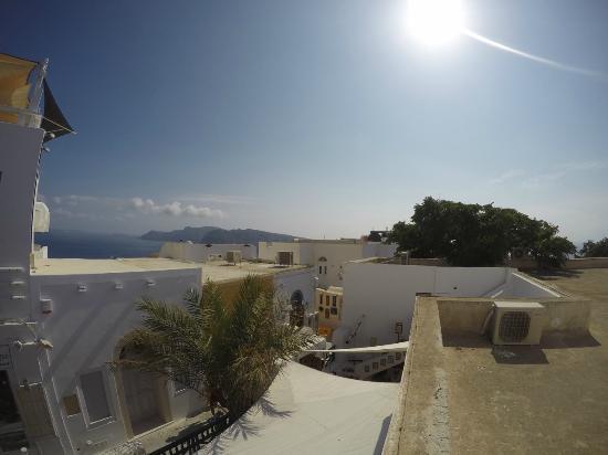 The Museum Spa Wellness Santorini Hotel: View