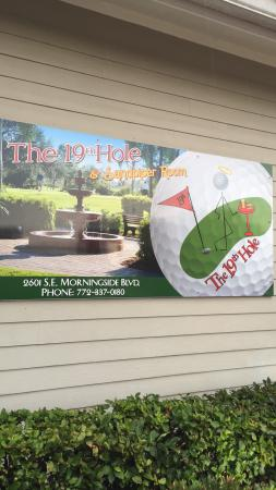 The 19th Hole & Sandpiper Room