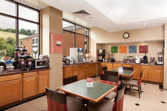 Comfort Inn Bluefield: Breakfast