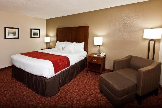 Comfort Inn Bluefield: King Room