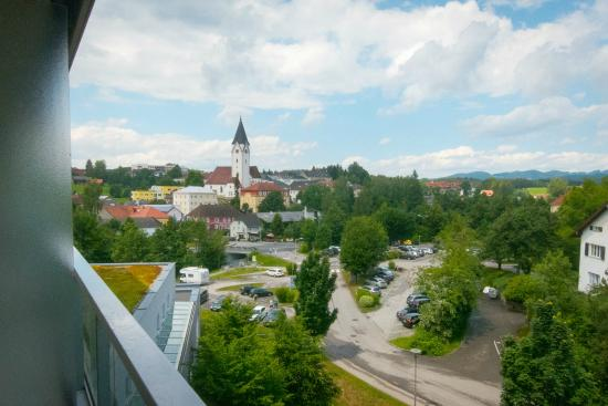 Hotel & Spa Lebensquell: Aussicht vom Balkon
