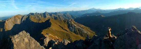 St Martin de Belleville: mountains and sunshine!