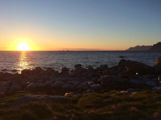Midnight sun, Værøy (Vaeroy) Norway