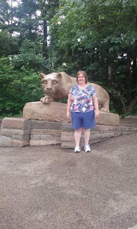Nittany Lion Statue Picture Of Penn State University