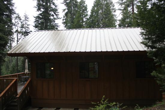 "Silver City Mountain Resort: side view, small ""chalet"" shooting star"