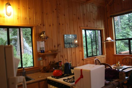 Silver City Mountain Resort: interior note lack of electricity...