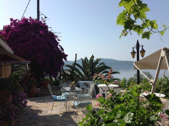 Paou, Grecja: Patio Area
