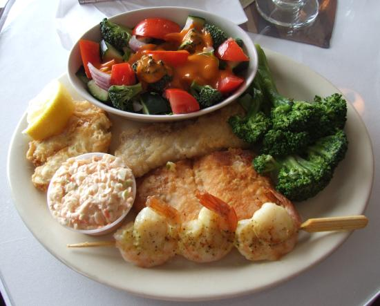 Cartiers Galley: Fisherman's Platter