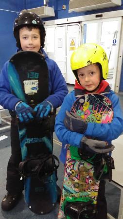 Soar Braehead: Snowboarding at Xscape