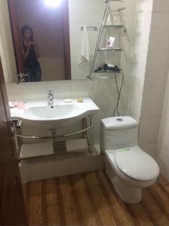 Forum Hotel: Ванная комната