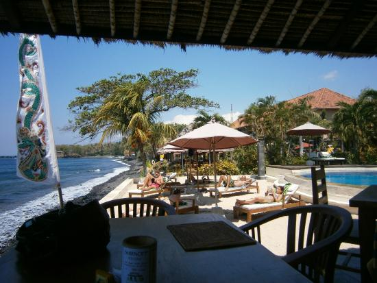 Tauch Terminal Resort Tulamben & Spa: Restoran