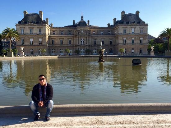 Paris, Fransa: Jardim de Luxemburgo