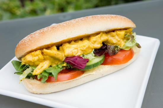 Ty Morgan's Bar-Bistro-Rooms: Fresh filled Rolls, Baguettes and Sandwhiches