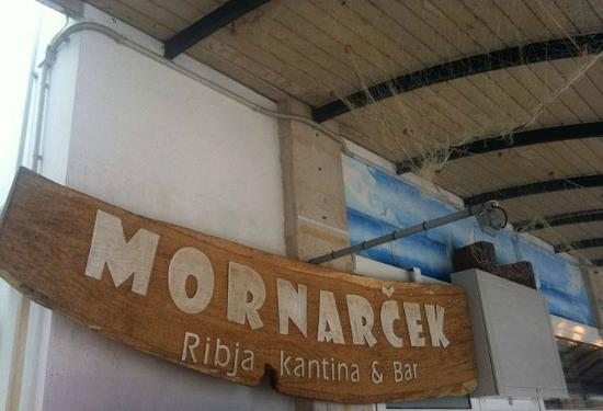 Mornarcek ribja kantina bar koper restaurant for Food bar kantina