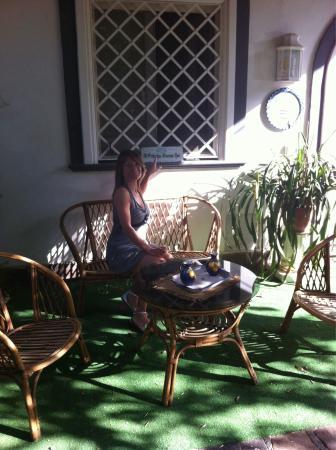 Villa Maresca: 27 giugno 2015 . In giardino