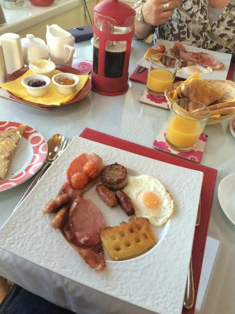 Fernhill House: Full Irish Breakfast minus the black pudding