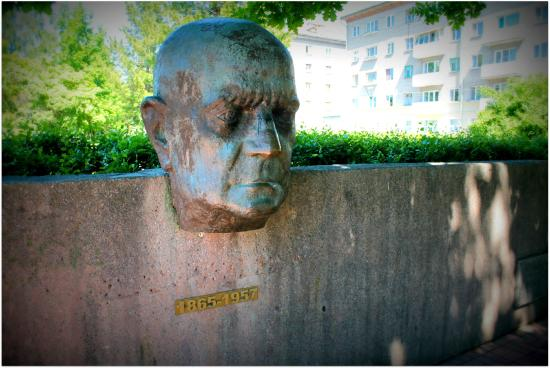 Monument to Finnish Composer Jean Sibelius